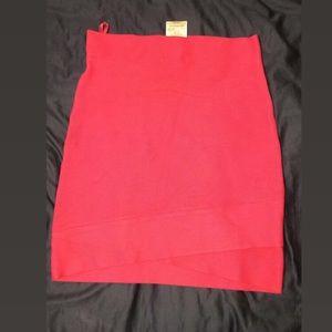Pink BCBGMAXAZRIA skirt